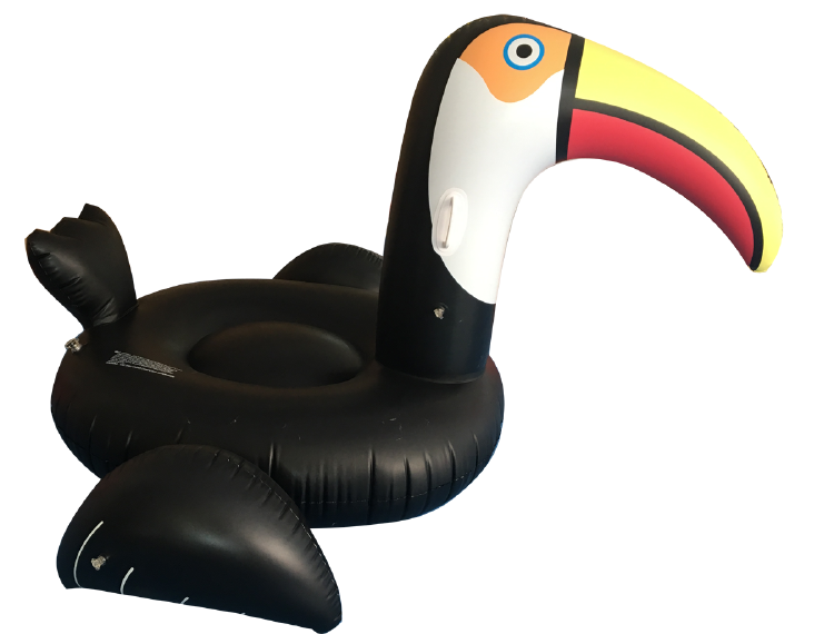 INFLATABLE WOODPECKER FLOAT