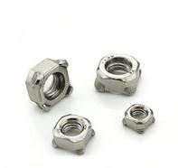 Hexagon weld nut DIN929 C1015/304