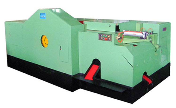 high speed rivet heading machine