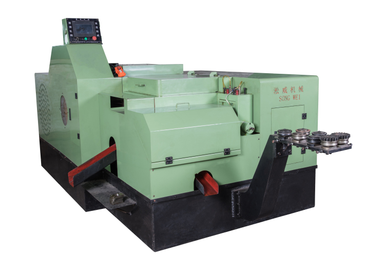 Cold heading machine, nut former machine