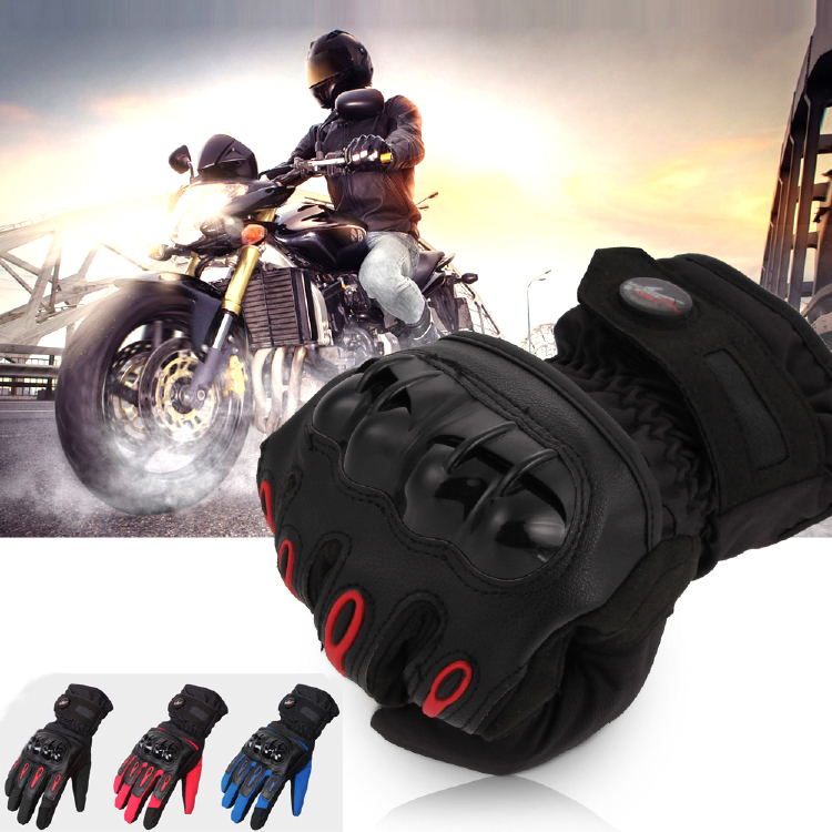 Touchscreen Motorcycle Scooter Racing Full Finger Gloves Fib
