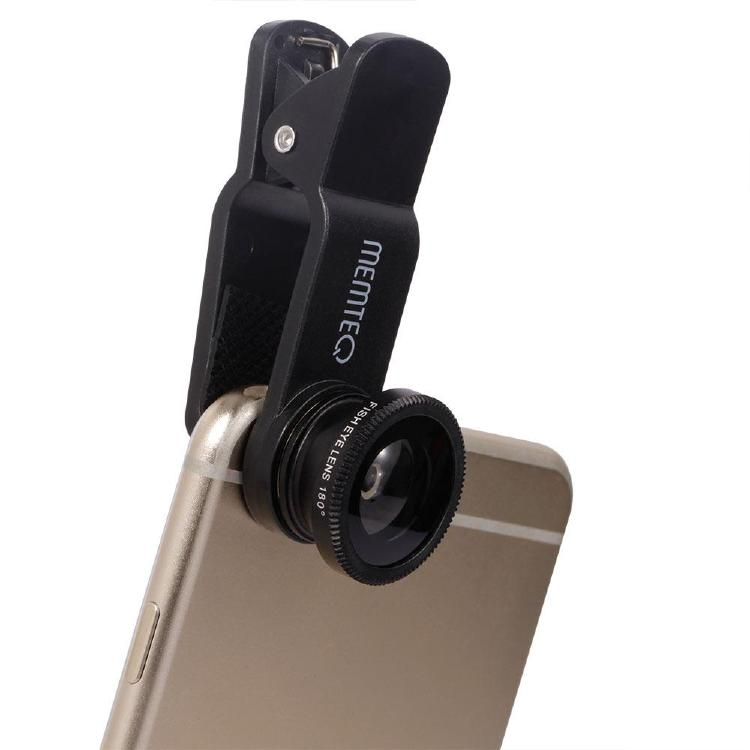 Universal Phone Camera Lens Kit Clip-On FishEye Lens