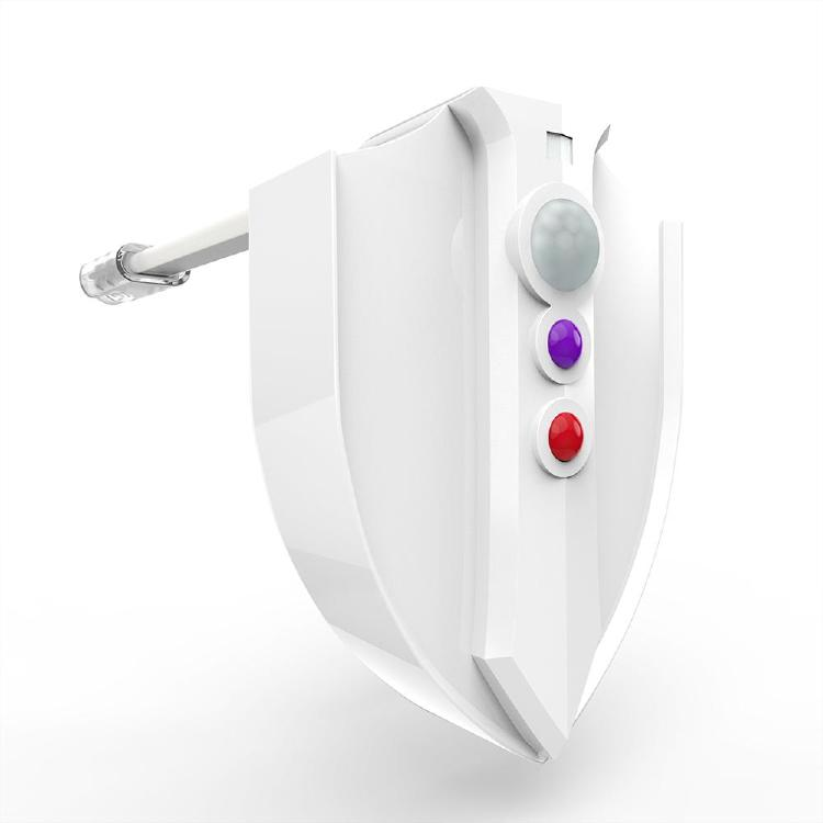 UV Toilet Seat with LED Light Sensor Motion