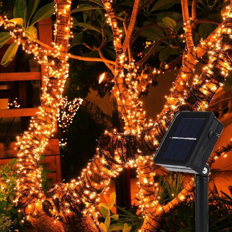8 Modes Solar Fairy String Garden LED Decorative Lights
