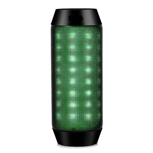 LED Lautsprecher - Tragbarer Bluetooth Lautsprecher mit Radi