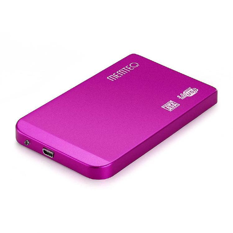 """MEMTEQ bis 2,5 """"USB 3.0 Externe Gehäuse für 118 x 73 x 10mm"""