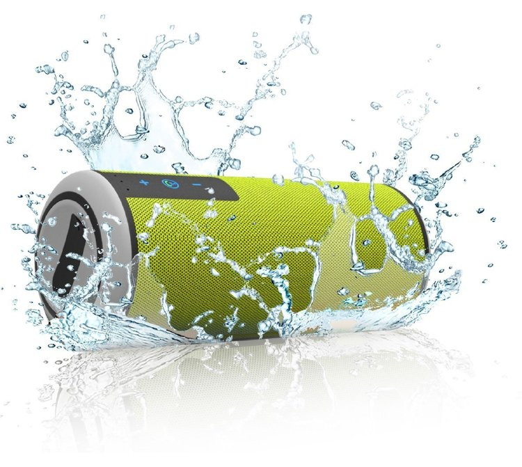 Trendwoo Music Tube Outdoor IPX4 Speakers Wireless Portable Hifi Speaker(Green)