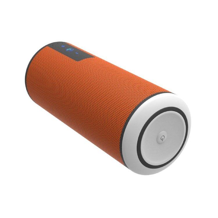 Trendwoo Musik Rohr Außen IPX4 Lautsprecher drahtloser beweglicher Hifi-Lautsprecher (orange)