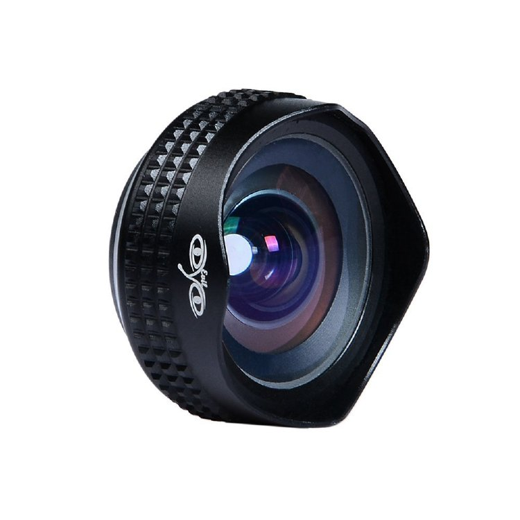 Apexel APL-18mm Focal Length Super Wide Angle Lens with Universal Clip for iPhone Android