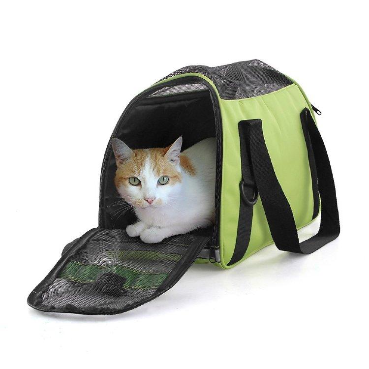 marsboy Портативный Pet Carrier для маленьких собак авиакомпании Approved под сиденьем Carrier Travel