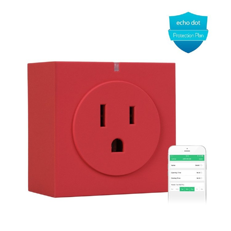 Wifi Smart Plug Intelligent Plug Wireless Switch with APP Wo