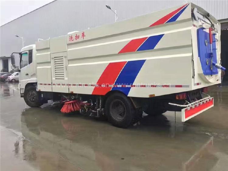 China Dongfeng Tianjin Vakuum Street Kehrmaschine Truck