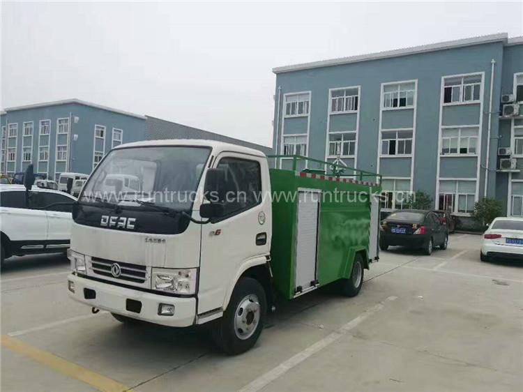 Camión cisterna Dongfeng con bomba de camión de bomberos y c