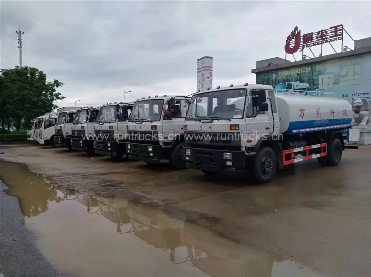 China 15 cbm Dongfeng water bowser