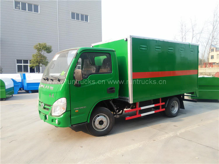 China Van Type Truck for Flammable goods transportation