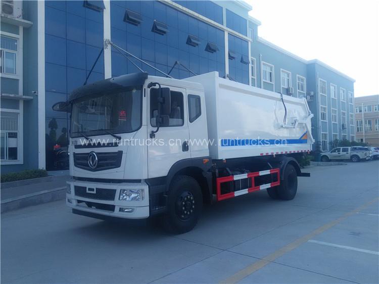 15 cbm dongfeng Docking Müllwagen mit Abfallsammlung