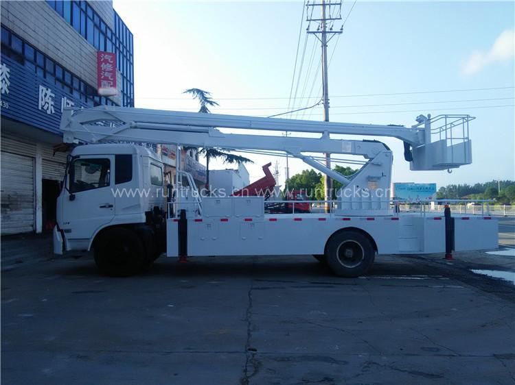 DongFeng tianjin yüksek irtifa işletme kamyonu