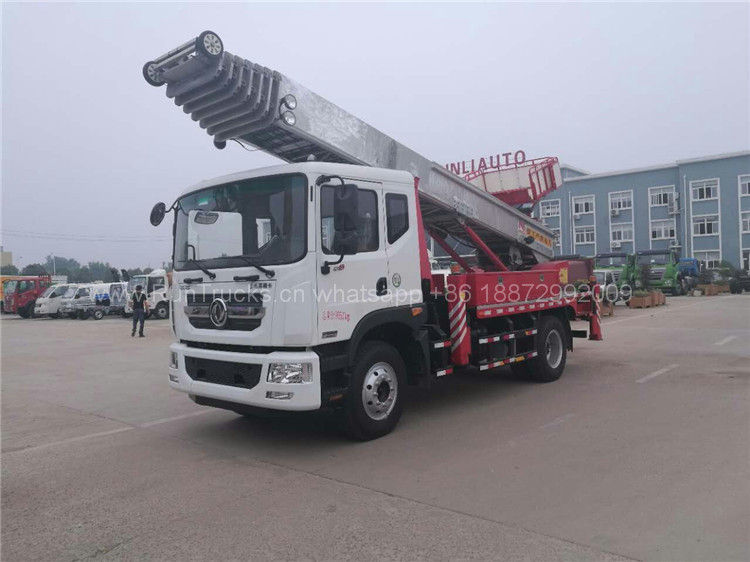Dongfeng D9 45 meters High Altitude working platform truck