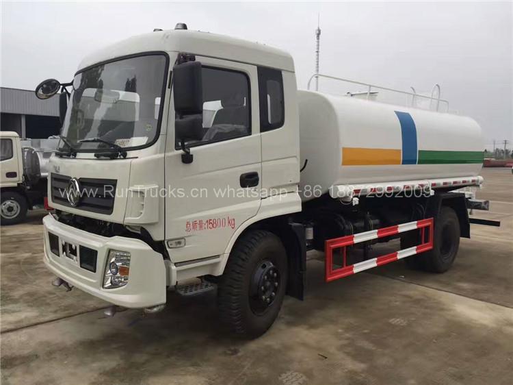 Dongfeng 12 тонн водный грузовик для продажи