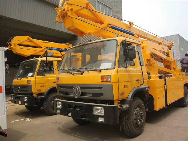 Camion de travail aérien Dongfeng 24 m de haut