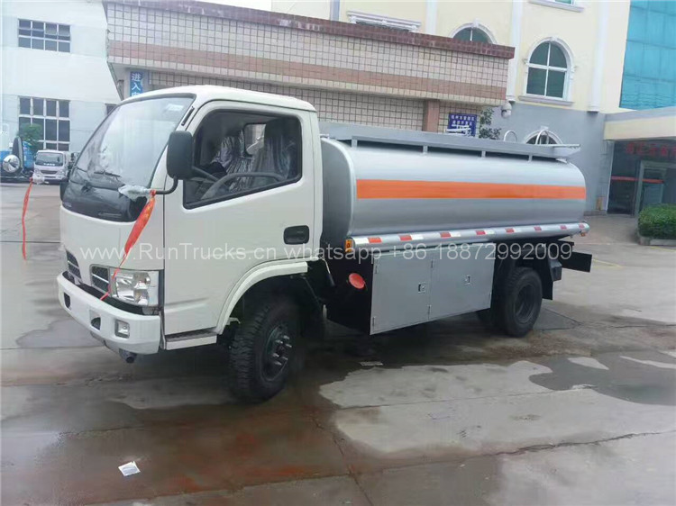 China Dongfeng 5 cbm fuel tank truck