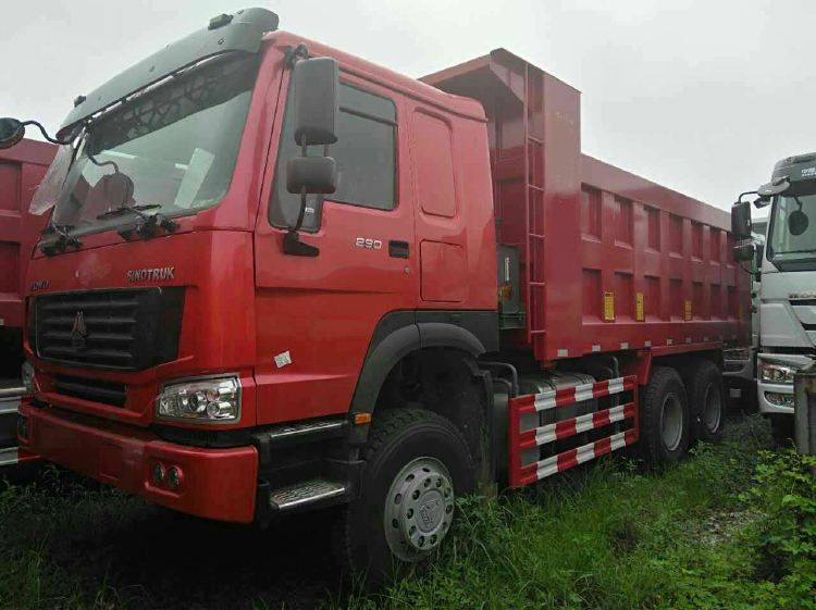 China Sinotruk Howo 7 Muldenkipper