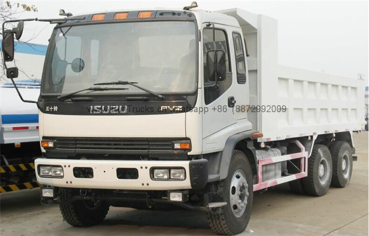 China isuzu 6x4 FVZ dump tipper truck