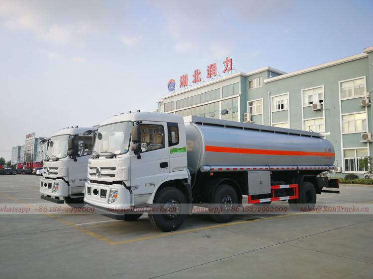 China Dongfeng 24 cbm Flüssigkeit Versorgung Fahrzeug, Öltan