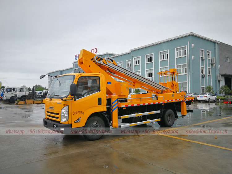 China JMC 20 meters Aerial Working Platform Truck