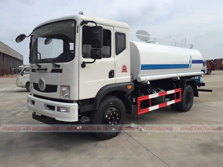 China Dongfeng T3 12cbm water bowser, 12 cbm water truck à v