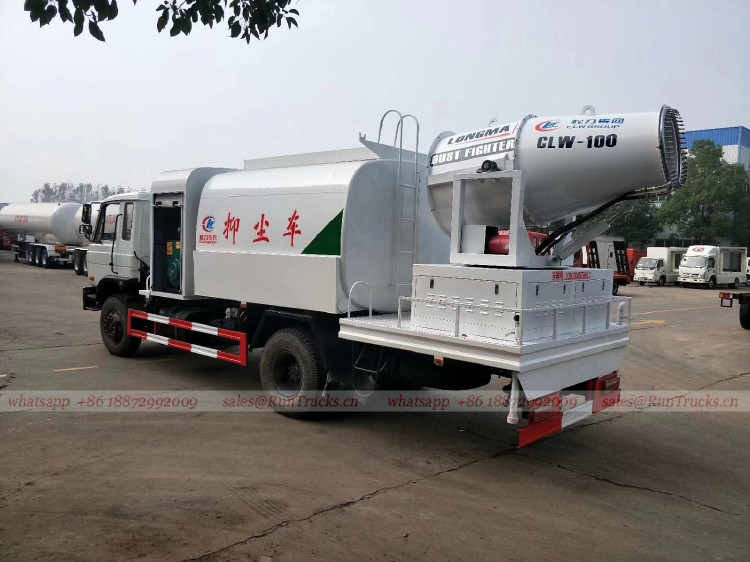 Fabricant de camion de suppression de poussière de la Chine,