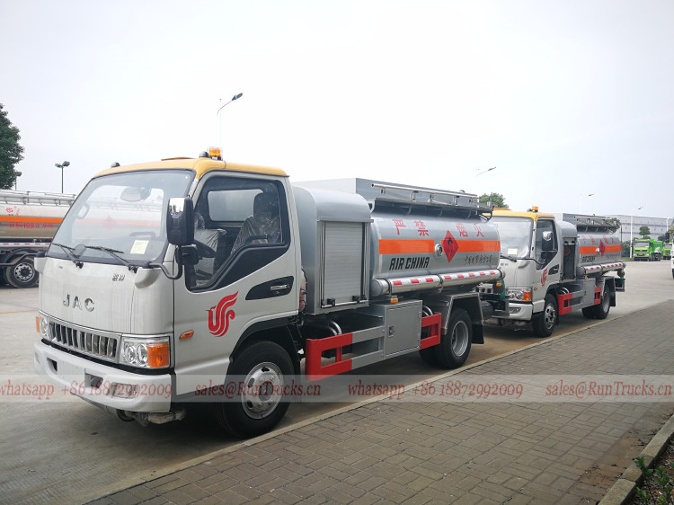 Chine JAC 4000L avion ravitaillement camion