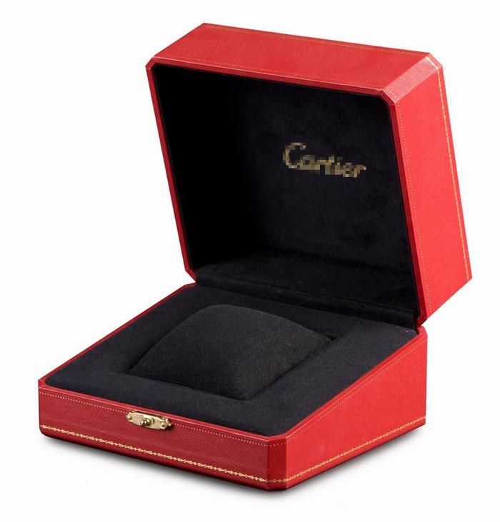 quality design 5d1e4 fed0e カルティエのための赤いプラスチック製の時計ボックス