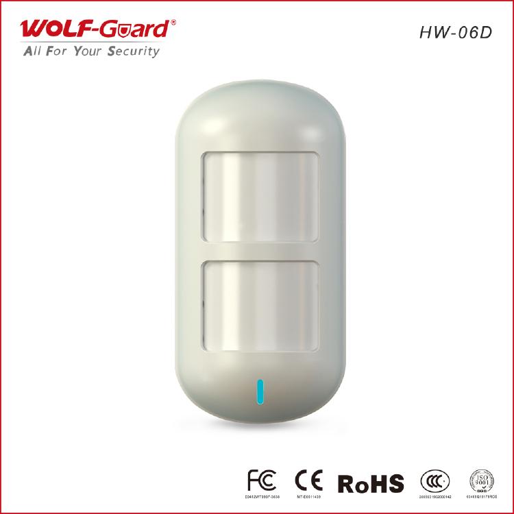 Detector infravermelho wireless-dual-pet-immune-pir-infraver