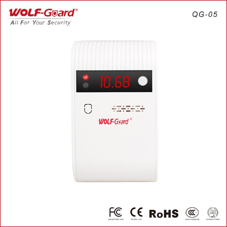 detector de gas inalámbrico