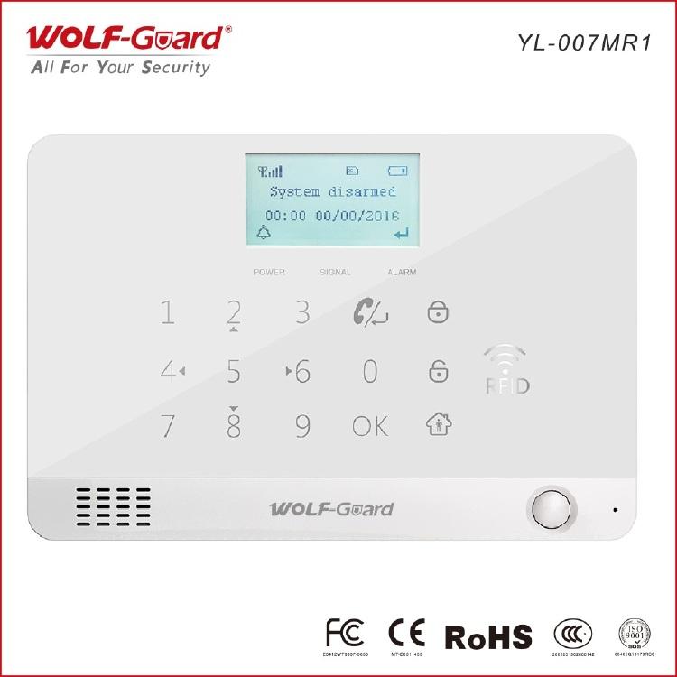 gsm-rfid-alarm-system,2G&RFID security alarm