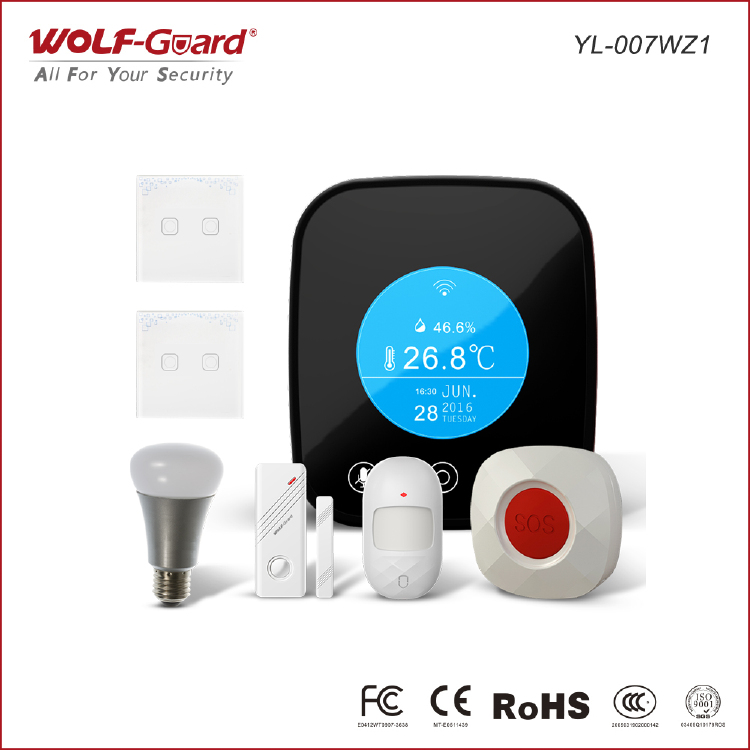 Wolf-max,a Zigbee smart home security alarm hub