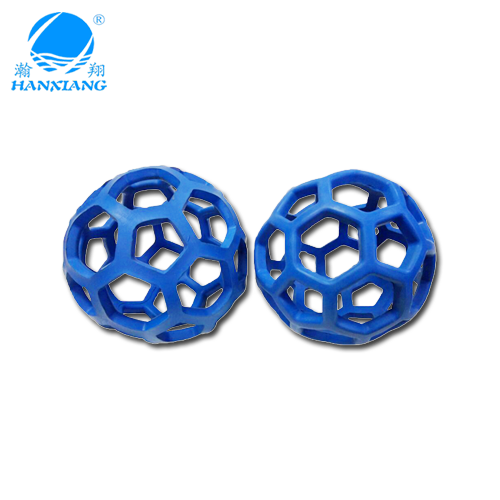 Design new stype molded rubber component ball with grid hole