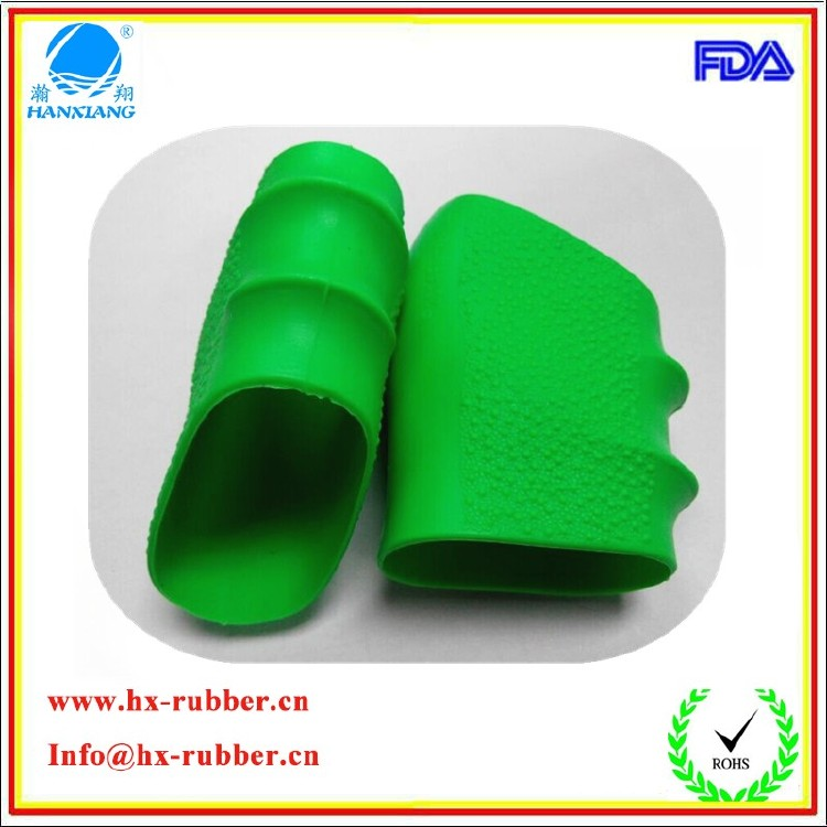 Design new style silicone rubber grip sleeve for pistol