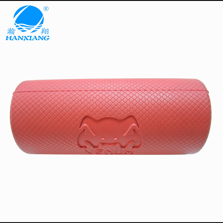 Custom thick barbell bar silicone grip weight lifting handle
