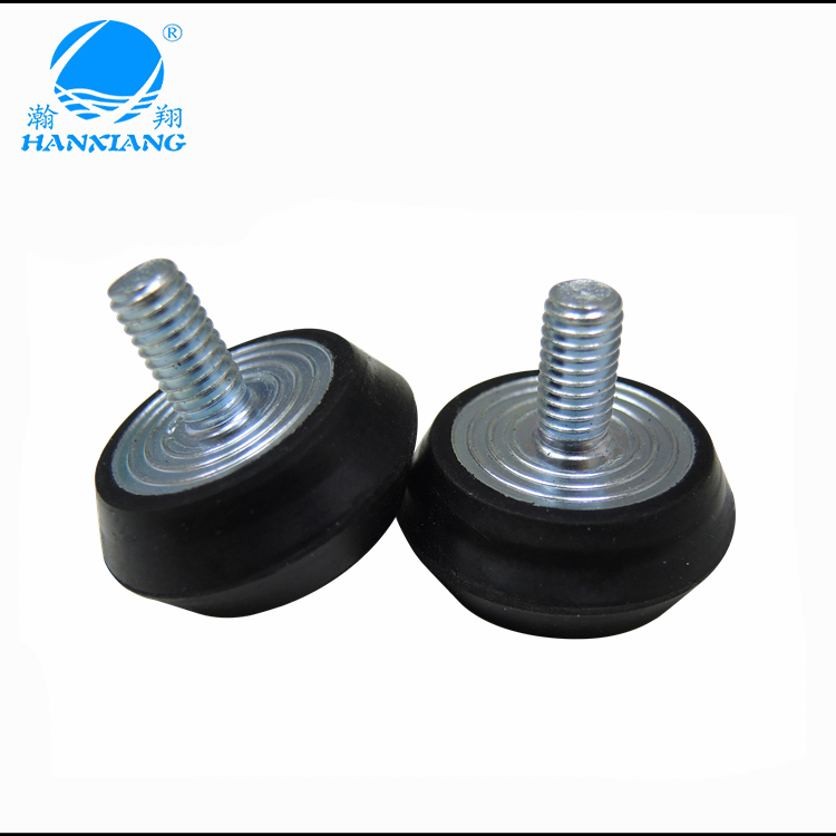 Anti vibration Rubber feet with M6 M8 screw for equipment ma
