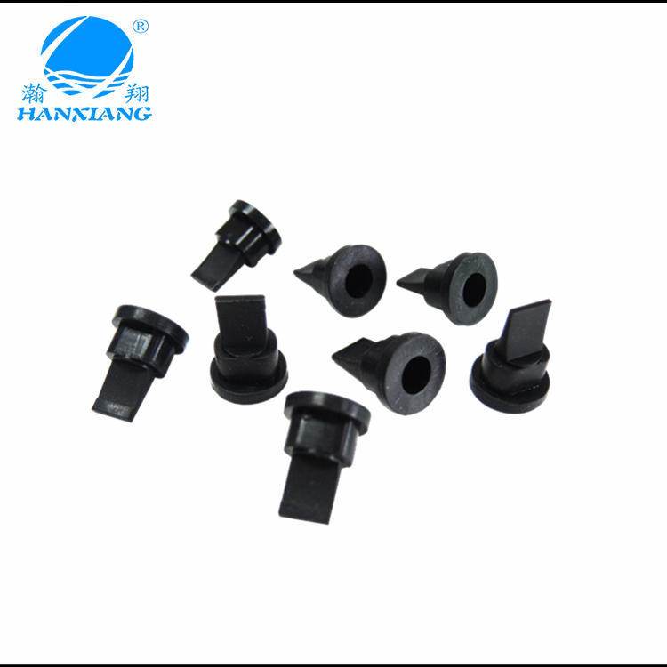 Free sample Mini Silicone Duckbill Rubber Check Valve with F