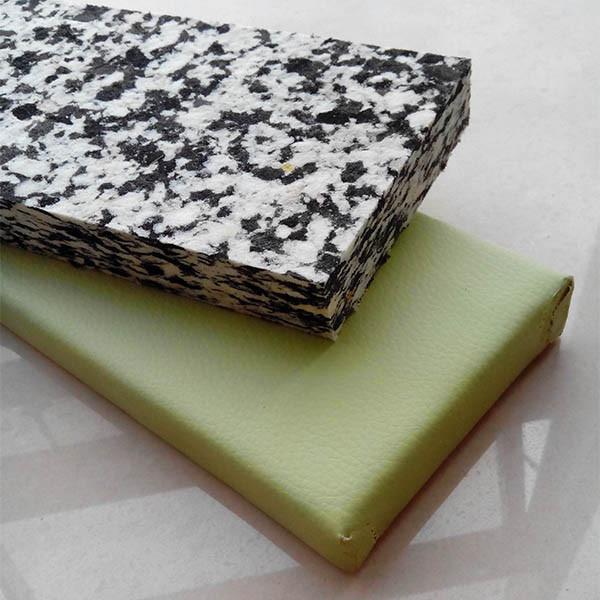 Custom size rebonded foam
