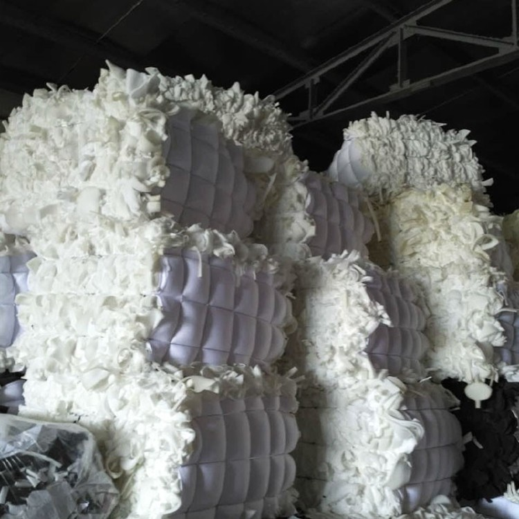 PU foam recycling in bales