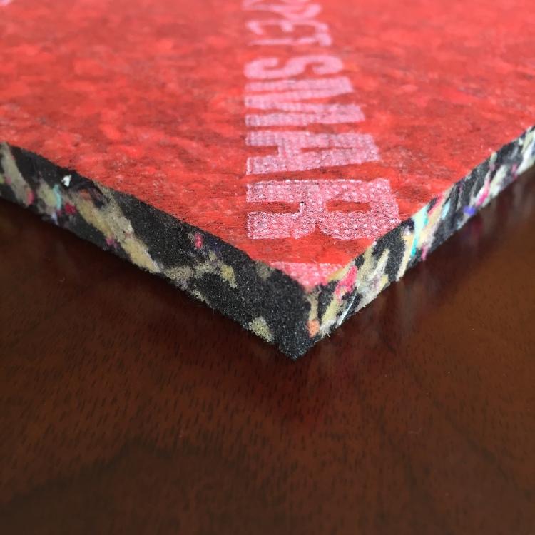B Grade density 110kg/m3 PU foam underlay