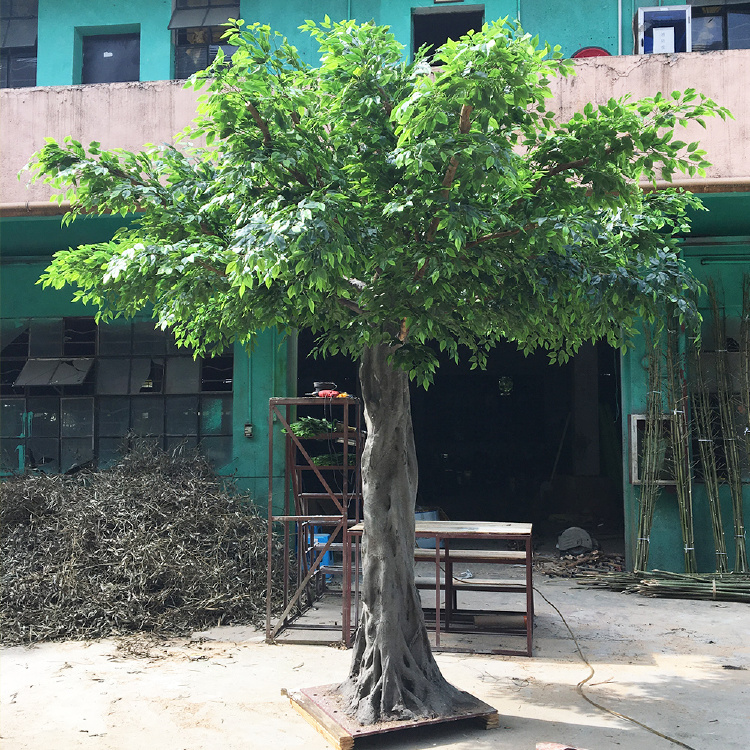Artificial Banyan Tree for indoor&outdoor decoration