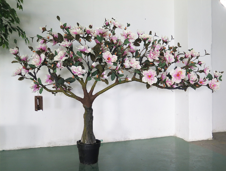 artificial magnolia tree fake tree for indoor and outdoor de