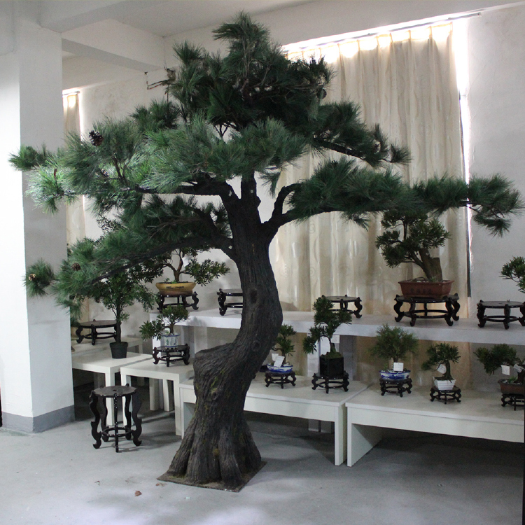 Indoor decoration fake Artificial Pine Tree High Quality out