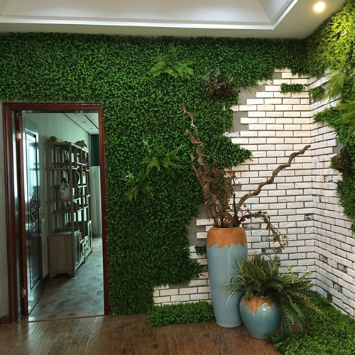 Hot Sale Indoor Artificial Green Wall