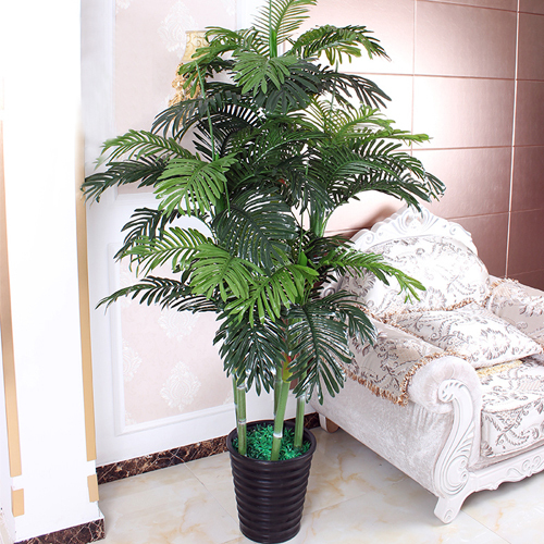 Indoor and Outdoor Decor Artificial Plant Mini Ficus Tree